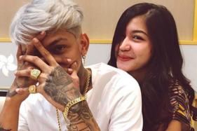 Young Lex dan pacarnya Eriska Kesya. (Istimewa/Instagram)
