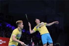 Marcus Fernaldi Gideon/Kevin Sanjaya Sukamuljo. (Badmintonindonesia.org)