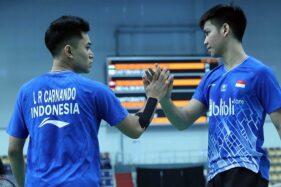 Leo Rolly Carnando dan Daniel Marthin (badmintonindonesia.org)