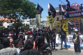 Ratusan Pesilat PSHT Datangi PN Mojokerto, Tuntut Pembunuh Saudara Mereka Dihukum Mati