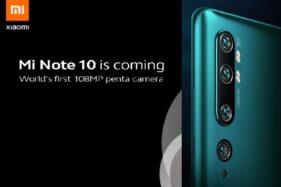 Spektakuler, Xiaomi Mi Note Pakai Penta Kamera 108Mp