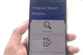 Aplikasi IS Madiun dari Kantor Imigrasi Kelas II Non TPI Madiun. (Abdul Jalil-Madiunpos.com)