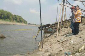 Lokasi penemuan 3 perahu baja di Sungai Bengawan Solo. (detik.com)