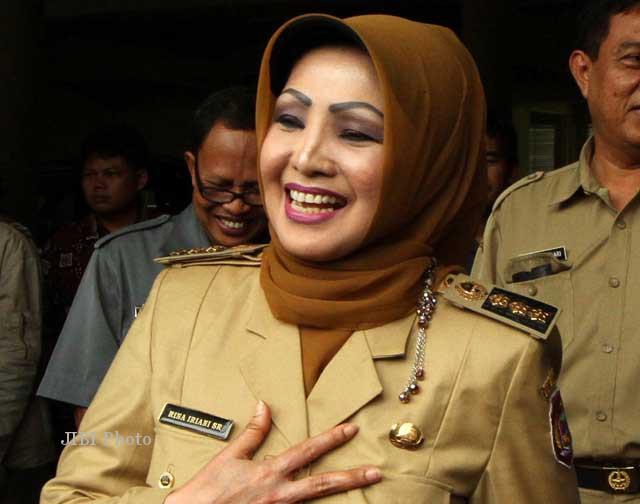 Begini Kabar Terbaru Mantan Bupati Karanganyar Rina Iriani di LP Semarang…