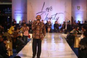 Wali Kota Solo, F.X. Hadi Rudyatmo saat fashion show Love in Charity Concert di Solo Paragon Lifestyle Mall, Solo, Rabu (1/5/2019) malam. (Solopos-Feri Setiawan)