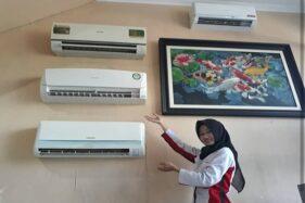Layanan servis AC di CV Utama Teknik. (Solopos/Dok)
