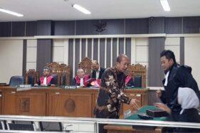 Mantan Bupati Sragen Agus Fatchur Rahman Dituntut 1,5 Tahun Penjara