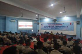 Suasana kuliah umum di Politeknik Bumi Akpelni Semarang, Jumat (18/10/2019). (Semarangpos.com-Humas Akpelni Semarang)