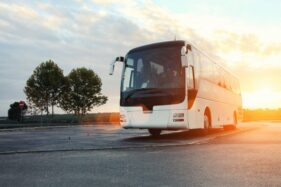 Ilustrasi bus. (Freepik)