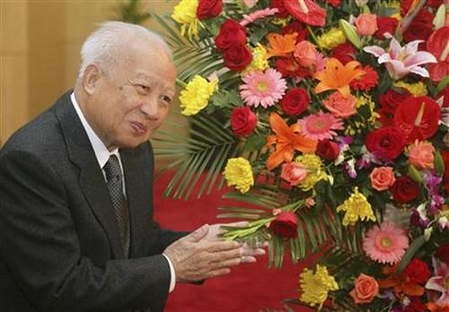 Norodom Sihanouk. (Reuters)