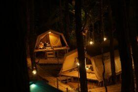 Glamour Camping (Glamping) De'Loano dengan mengambil konsep ekowisata. (Istimewa)