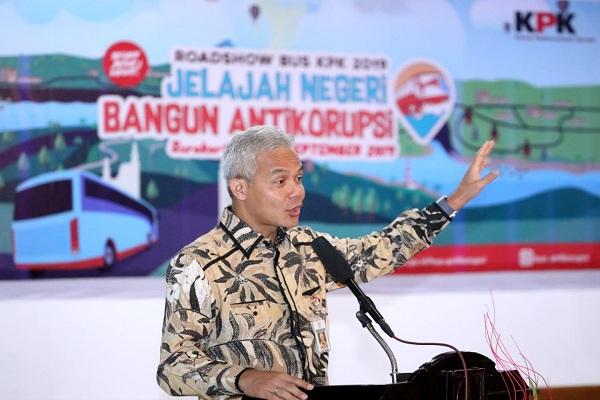 KPK Rilis Hasil Survei, Jateng Paling Antikorupsi, Begini Komentar Ganjar…
