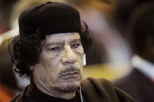 Penguasa Libya Muammar Abu Minyar Al-Qaddafi alias Muammar Gaddafi. (Reuters)