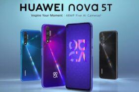 Sebentar Lagi, Huawei Perkenalkan Smartphone Kamera Super-Canggih Nova 5T
