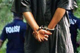 Ilustrasi penangkapan pelaku tindak kriminalitas. (Antara)