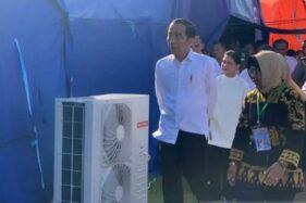 Kunjungi Pengungsi Gempa di Ambon, Jokowi Janji Segera Benahi Fasilitas