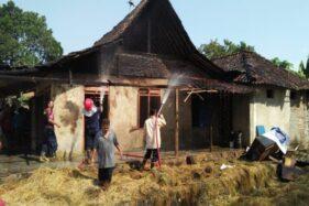 Anak Main Api, Gudang Jerami dan Rumah di Sragen Terbakar