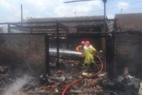 Bakar Sampah Ditinggal, Api Lahap Dapur Rumah di Sragen