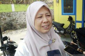Kepala Balai Penyelidikan dan Perkembangan Teknologi Kebencanaan Geologi (BPPTKG) Yogyakarta Hanik Humaida. (Antara-Heru Suyitno)