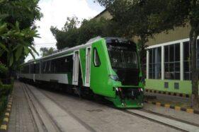 Kereta api yang akan dioperasikan untuk rute Solo Balapan-Bandara Adi Soemarmo Solo. (Solopos/Dok)