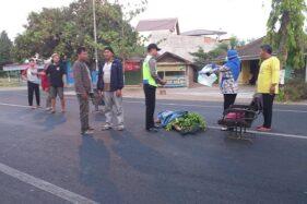 Ragu Nyeberang, Warga Selogiri Wonogiri Meninggal Tertabrak Bus