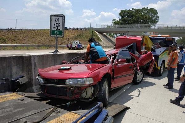 Kecelakaan di Tol Bawen-Salatiga, 3 Nyawa Melayang