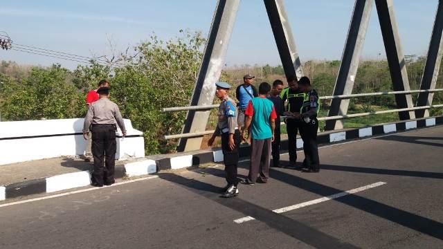 Motor Tabrak Beton Jembatan di Wonogiri, 1 Orang Meninggal, 2 Luka