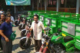 35 Motor Pengangkut Sampah Ditebar KLHK di Demak, Jepara, dan Kudus