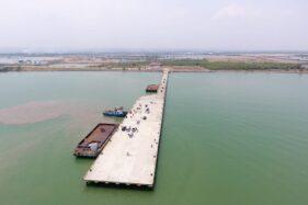 Dermaga multipurpose di Pelabuhan Kendal, Jawa Tengah. (Bisnis)