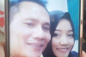Maspuryanto (kiri) yang diduga membakar istrinya. (detik.com)
