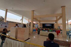 Suasana TPS di TPS Desa Tiron, Kecamatan Madiun, Kabupaten Madiun, Rabu (16/10/2019). (Madiunpos.com-Abdul Jalil)