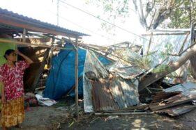 30 Menit Mencekam Kala Puting Beliung Mengamuk di Masaran Sragen