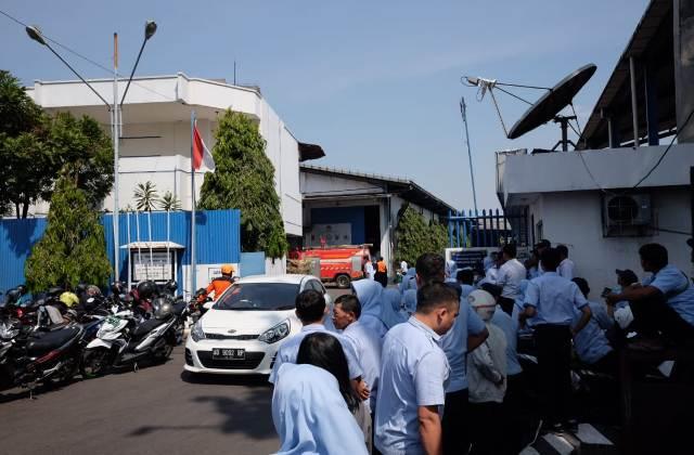 Pabrik Sritex Group di Jaten Karanganyar Terbakar