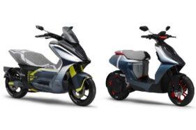Yamaha Bikin Skuter Listrik dengan Mesin Setara Motor 125cc