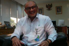 Deputi Direktur Kanwil BPJS Ketenagakerjaan Jateng-DIY Suwilwan Rachmat. (Antara-Nur Istibsaroh)