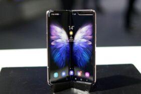 Samsung Galaxy W20 5G. (Detik.com)