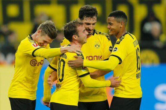 Borussia Dortmund. (Reuters-Leon Kuegeler)