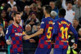 Tampil Mendominasi, Barcelona Ditahan Imbang 10 Pemain Alaves