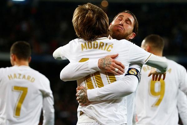 Real Madrid Pepet Barcelona, Jauhi Atletico Madrid