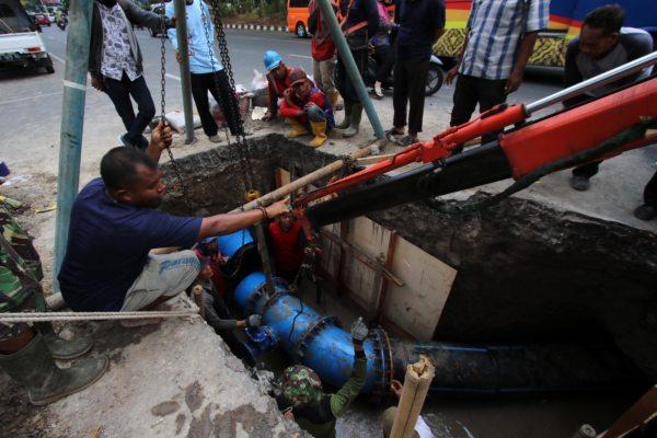 Pemindahan Pipa PDAM di Purwosari Solo Dimulai, Awas Gangguan Air