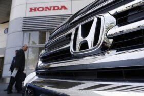 Ilustrasi mobil Honda. (Reuters)
