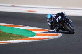 Ujian Pertama Bersama Honda, Alex Marquez Langsung Tumbang