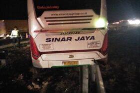 Kecelakaan Maut di Tol Cipali: Bus Vs Bus, 7 Nyawa Melayang