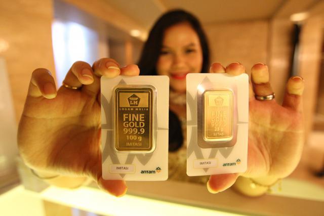 Emas Antam-LM (Bisnis-Dedi Gunawan)