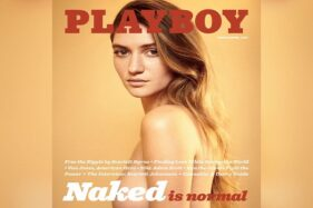 Ilustrasi majalah Playboy. (Pictagram)