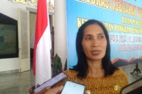 Kepala Dinas Pengendalian Penduduk Keluarga Berencana Perlindungan Perempuan dan Perilindungan Anak (PPKB PP dan PA) Kabupaten Madiun, Siti Zubaidah. (Abdul Jalil-Madiunpos.com)