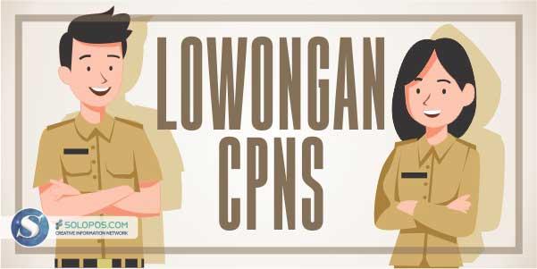 Catat Lur! Ini Daftar Formasi CPNS & P3K Wonogiri