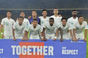 Timnas Indonesia (Twitter/@FAM_Malaysia)