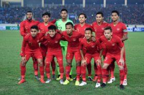 Tim Nasional Indonesia U-23. (Antara/R. Rekotomo)