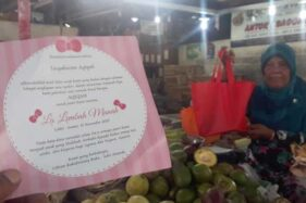 Pedagang Pasar Gede Solo Kebagian Akikah La Lembah Manah